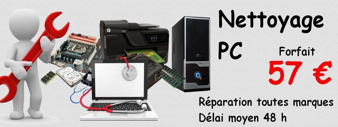 Nettoyage - Réparation pc