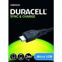 câble duracell micro usb 2M